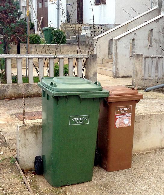 Novi raspored odvoza kućnog smeća i preuzimanja spremnika