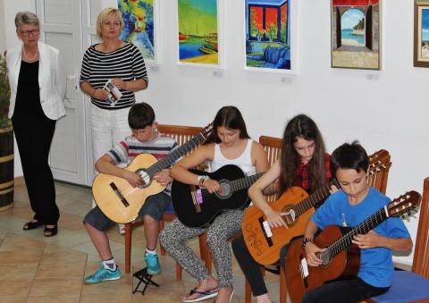 U Glazbenoj školi u Preku 50 učenika s cijelog otoka Ugljana