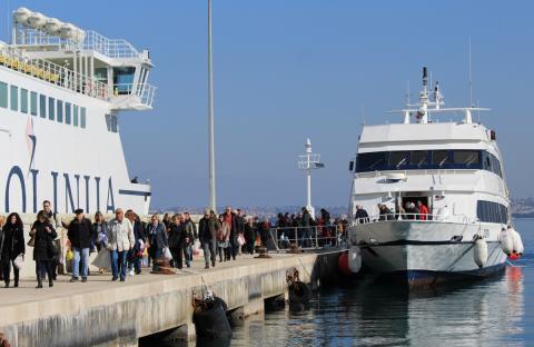 Brodska linija Zadar – Preko najprometnija na Jadranu