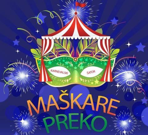 Maškare Preko: Zabava u šatoru uz grupu Zaratino i Sajam otočnih proizvoda