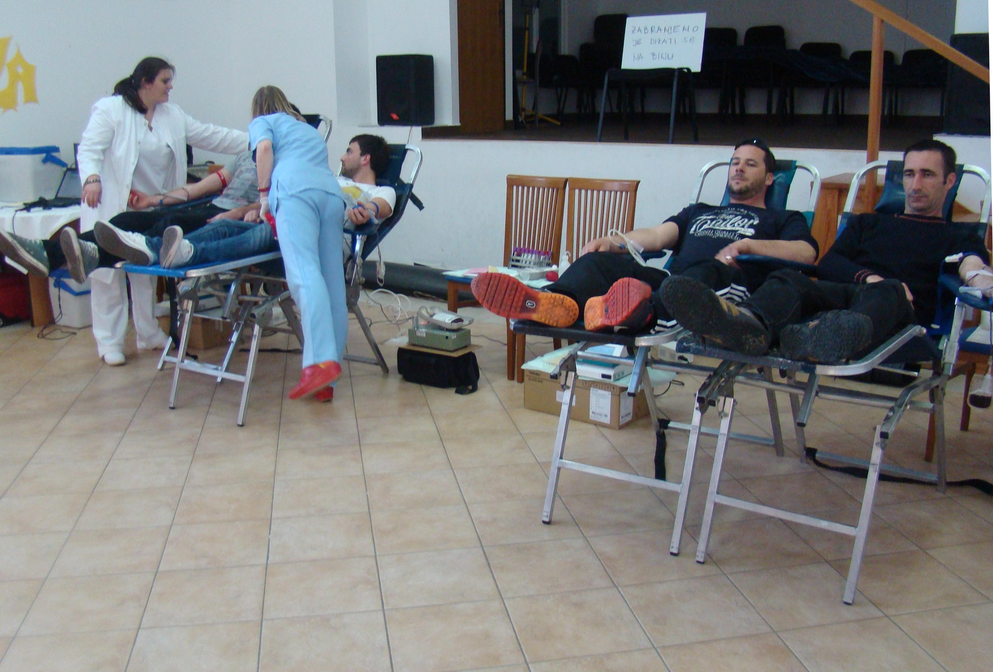 Uspješno provedena akcija darivanja krvi u Preku