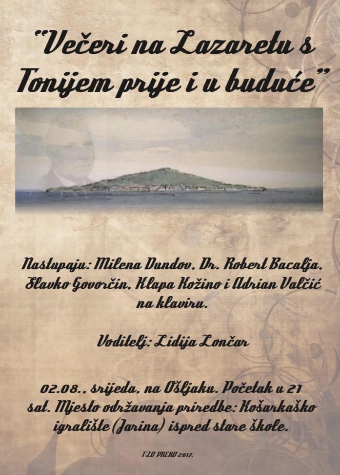 Ošljak: Književna večer posvećena pjesniku Toniju Valčiću