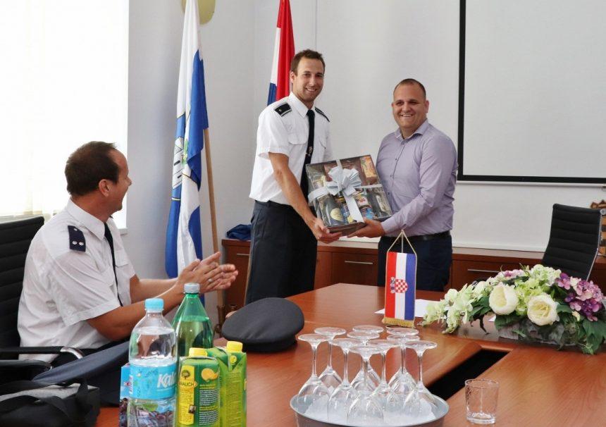 Posjet slovačkih vatrogasaca Općini Preko