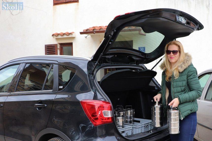 Općina Preko organizirala dostavu toplih obroka kućanstvima