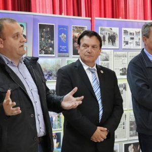 """Fotografije i dokumenti 112. brigade"" u OŠ Valentin Klarin"