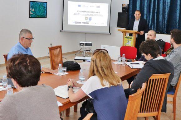 Održana koordinacija na projektuAglomeracija Preko – Kali