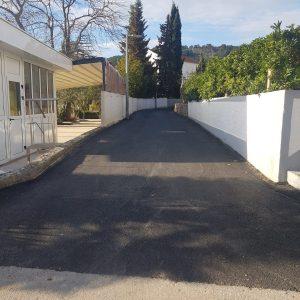 Asfaltiranje nerazvrstanih cesta u Općini Preko